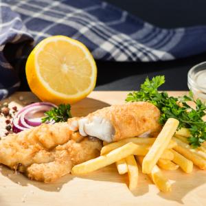 Meniu complet fish&chips